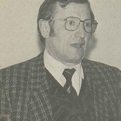 Präsident Sebastian Brugger (1980-1984)